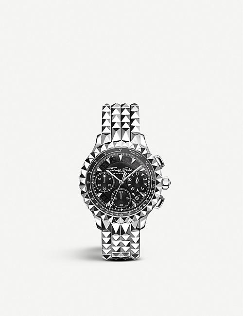 THOMAS SABO: Rebel at Heart stainless steel chronograph watch