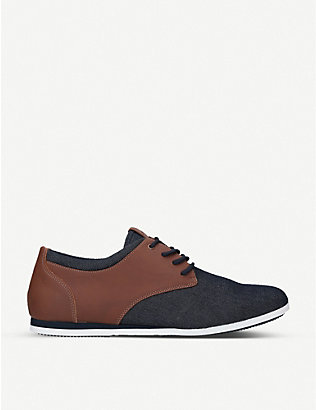 ALDO: Aauwen-R woven Derby low-top trainers