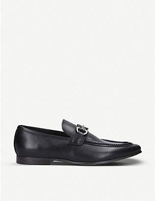ALDO: Daywen buckle-embellished leather loafers