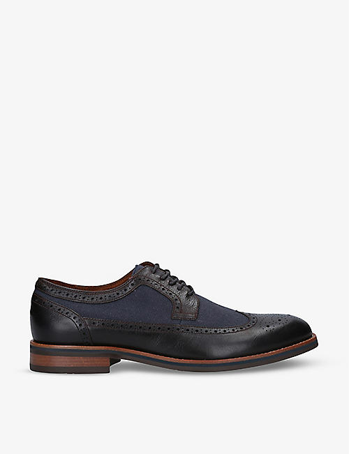ALDO: Kevin leather Derby shoes