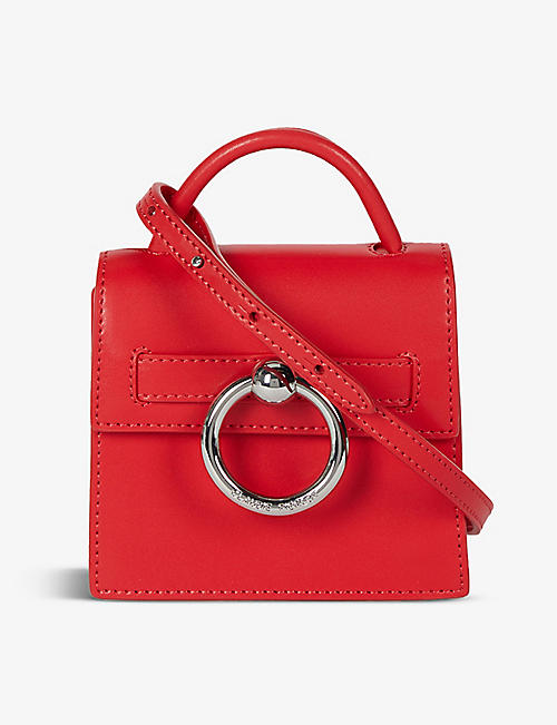 CLAUDIE PIERLOT: Anouk small leather shoulder bag