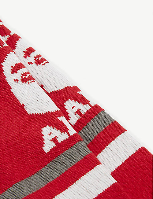 A BATHING APE College cotton-blend socks