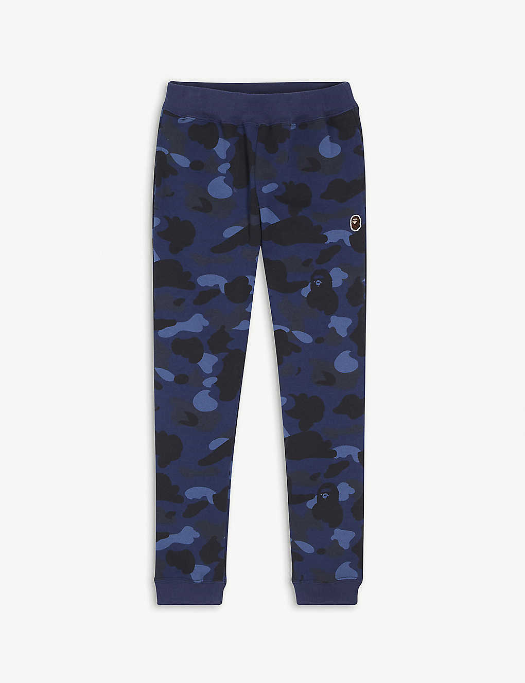 A BATHING APE: Camouflage-print cotton jogging bottoms 4-8 years