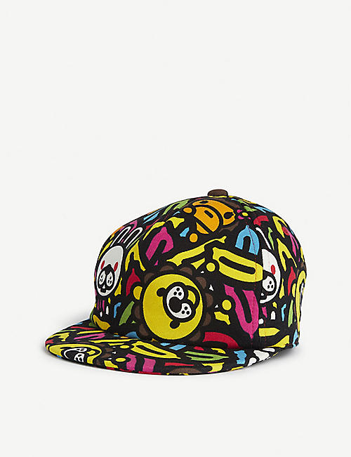 A BATHING APE Kids Milo banana pool baseball cap
