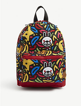 A BATHING APE: Kids Milo banana pool backpack