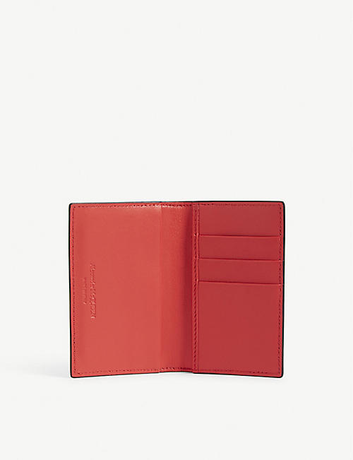 ALEXANDER MCQUEEN Logo leather bifold wallet