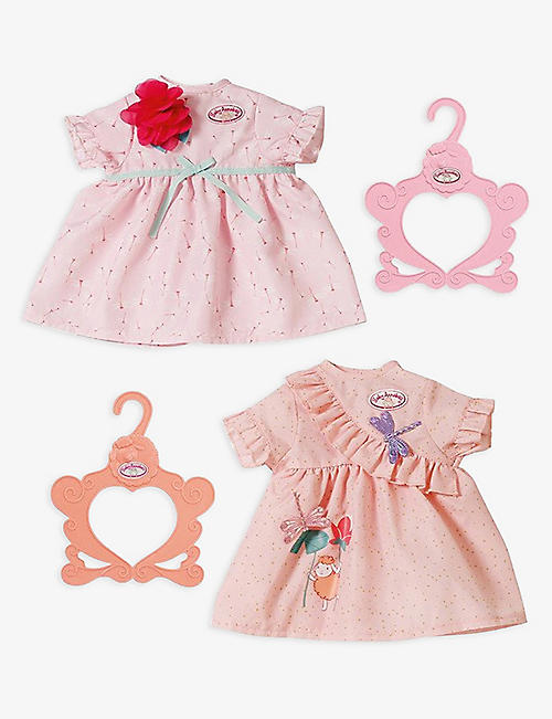 BABY ANNABELL: Day dress assorted set