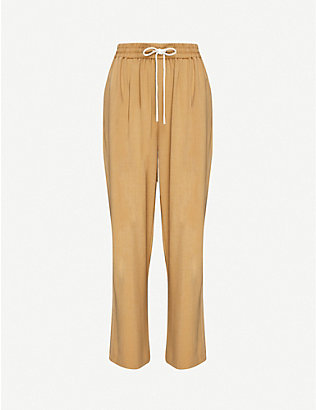 CAMILLA AND MARC: Benito wide-leg high-rise stretch-woven trousers