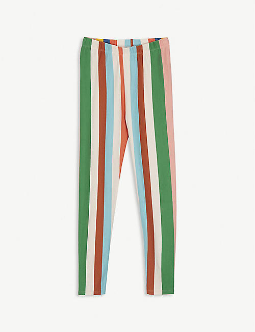 THE MIDDLE DAUGHTER Striped cotton jersey leggings 4-14 years