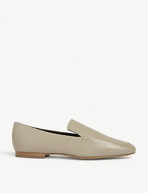 THE WHITE COMPANY: Leather loafers