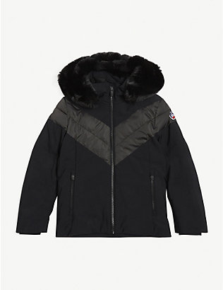 FUSALP: Anne JR two-tone ski jacket 8-14 years