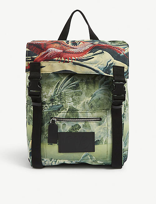 VALENTINO Roger Dean dragon backpack