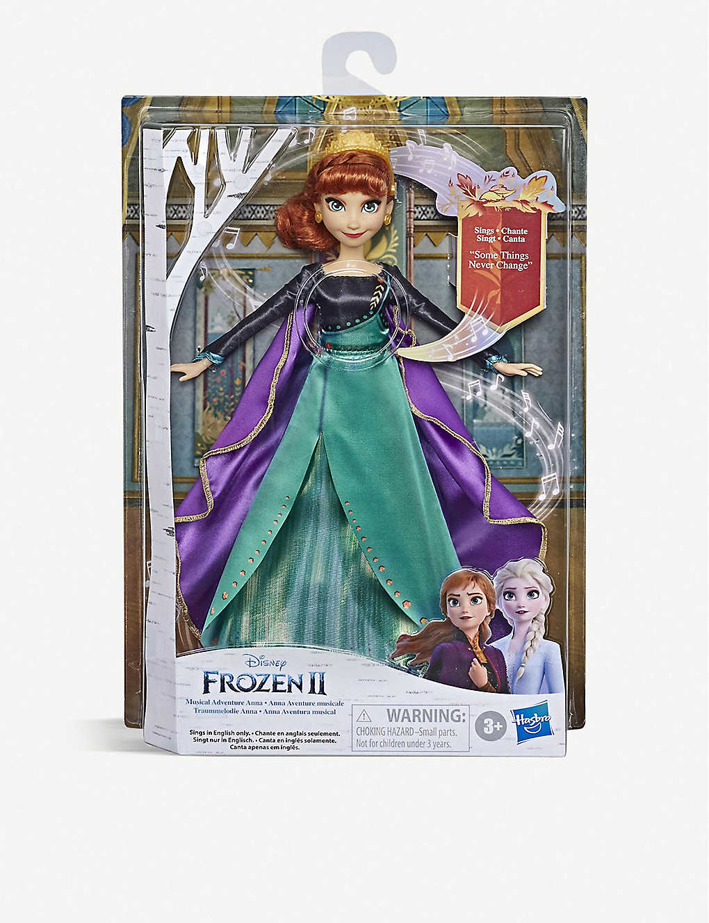 FROZEN II: Disney Frozen II Musical Adventure Anna doll