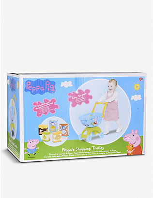 PEPPA PIG: Shopping trolley toy 39.5cm x 22cm x 50cm