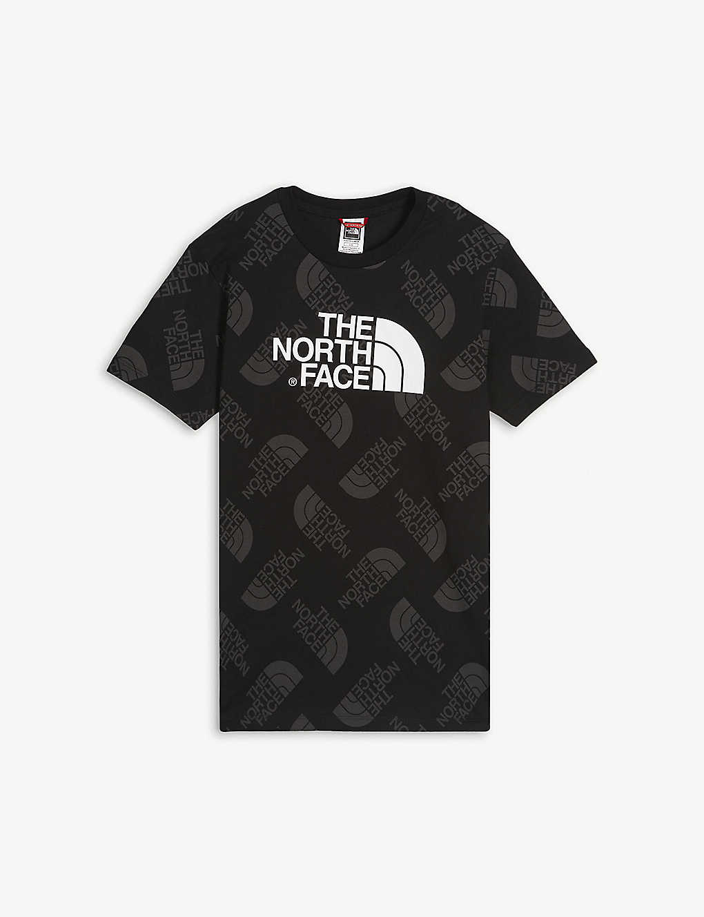 THE NORTH FACE: Logo-print cotton T-shirt 8-16 years