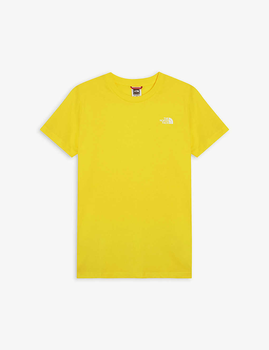THE NORTH FACE: Logo cotton T-shirt 6-20 years