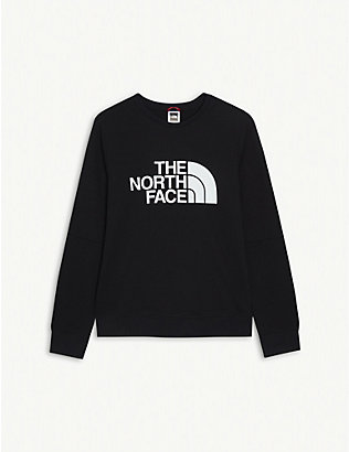 THE NORTH FACE: Logo-print cotton sweatshirt 5-16 years