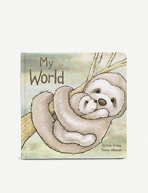 JELLYCAT: My World bedtime story book