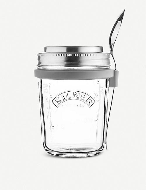 KILNER: Breakfast Jar Set