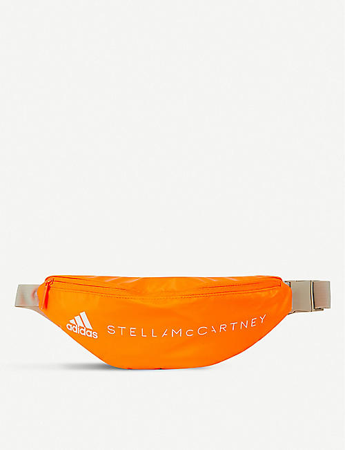 ADIDAS BY STELLA MCCARTNEY Logo-print shell bumbag