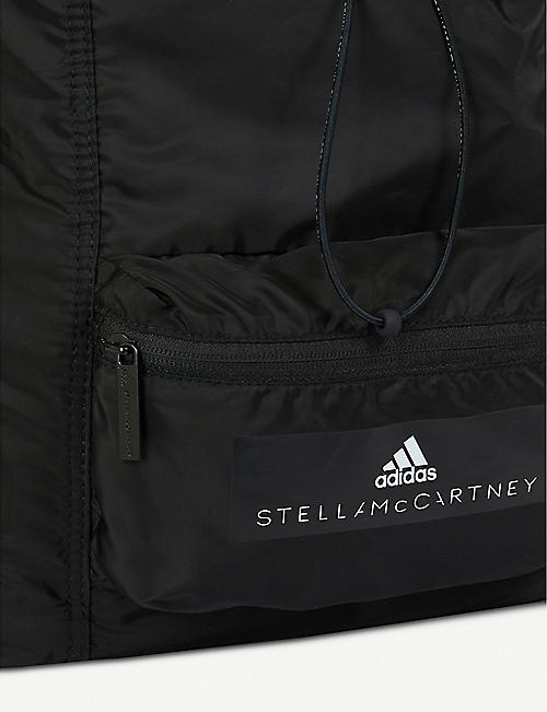 ADIDAS BY STELLA MCCARTNEY Logo-print shell backpack