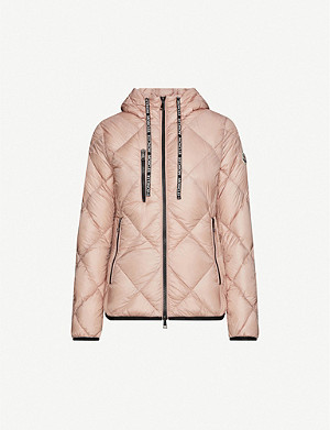 MONCLER Oulx hooded shell-down jacket