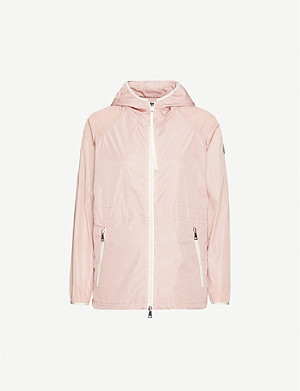MONCLER Eau contrast-trim relaxed-fit jacket