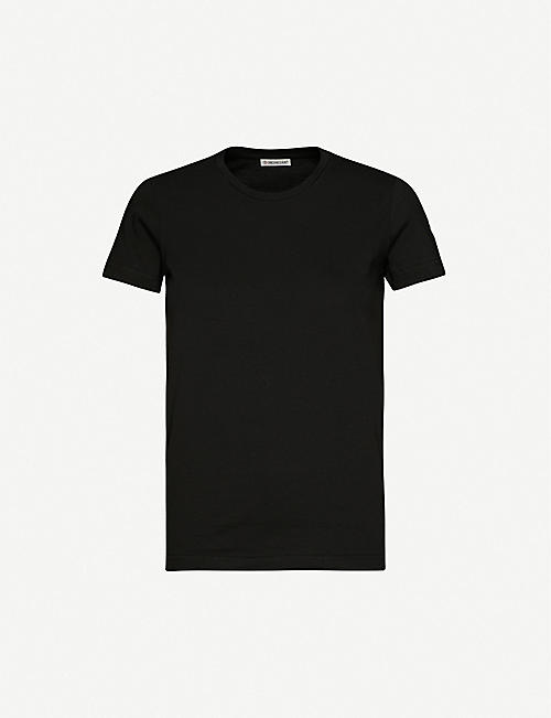 MONCLER Logo-badge cotton-jersey T-shirt