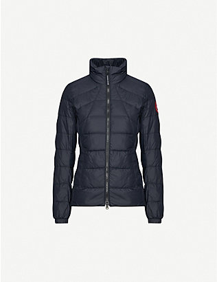 CANADA GOOSE: Abbott shell-down jacket