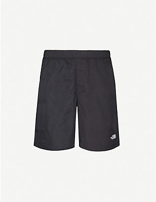 THE NORTH FACE: Logo-embroidered shell shorts