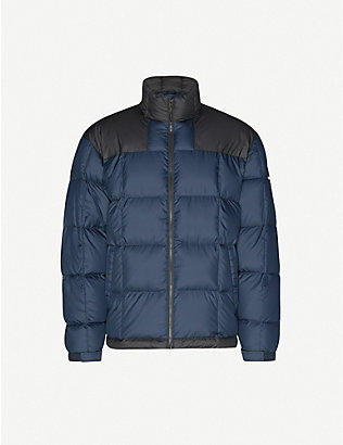 THE NORTH FACE: Lhotse padded colour-blocked shell-down jacket