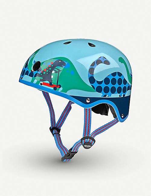 MICRO SCOOTER: Micro Deluxe Scootersaurus small helmet