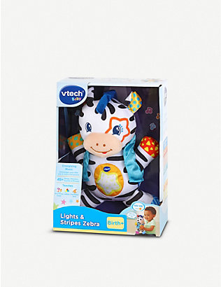 VTECH: Lights and Stripes Zebra baby toy