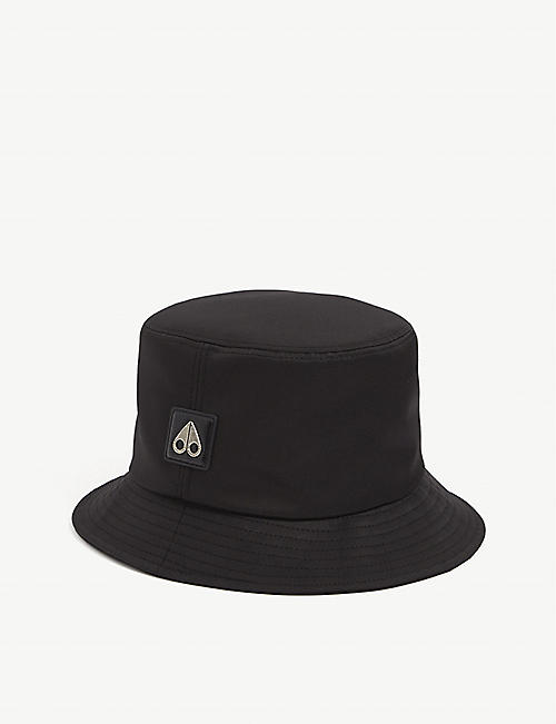 MOOSE KNUCKLES Flight satin bucket hat