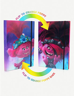 TROLLS: Trolls World Tour Flip 80-page notebook A5