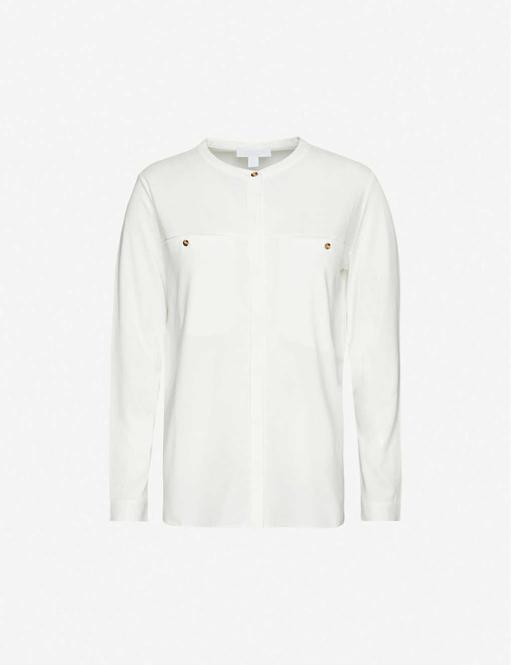THE WHITE COMPANY: Wide-pocket jersey shirt