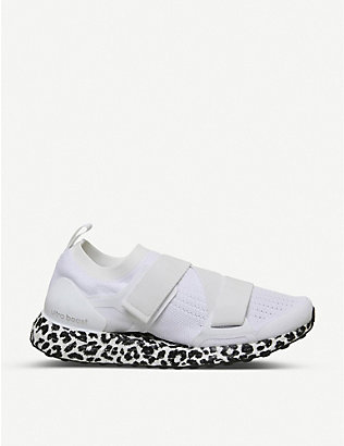 ADIDAS BY STELLA MCCARTNEY: Ultraboost X leopard-print knitted trainers