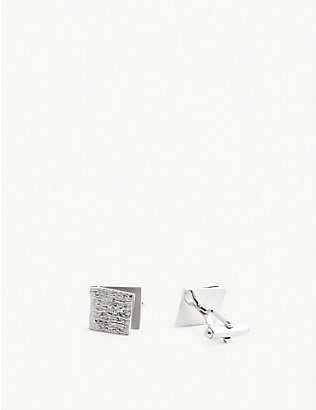 LANVIN: Square cufflinks