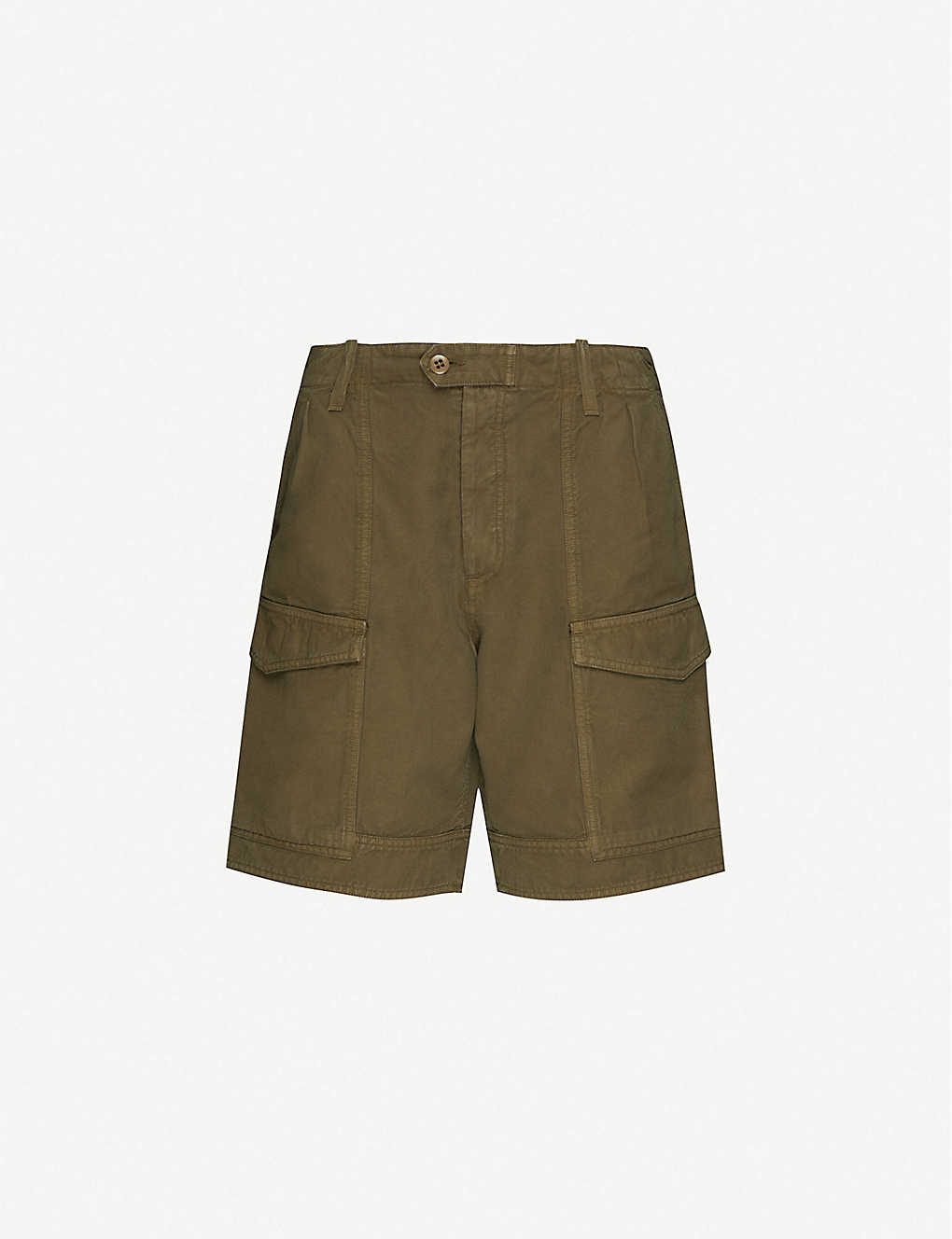 CITIZENS OF HUMANITY: Lily high-rise cotton and linen-blend shorts