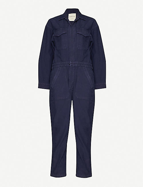 CITIZENS OF HUMANITY: Marta denim jumpsuit