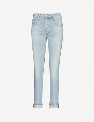 CITIZENS OF HUMANITY: Emerson straight-leg mid-rise jeans
