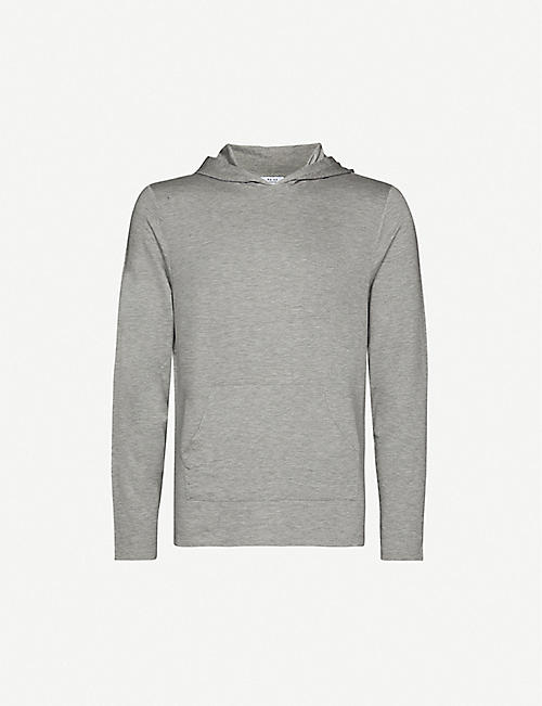REISS: Murphy stretch-jersey hoody