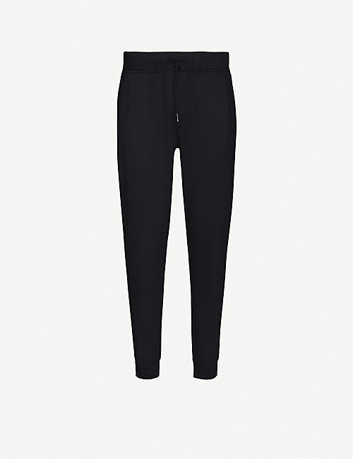 REISS: Tapered woven jogging bottoms