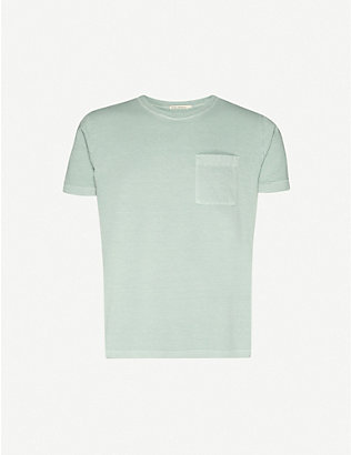 NUDIE JEANS: Roy cotton-jersey T-shirt
