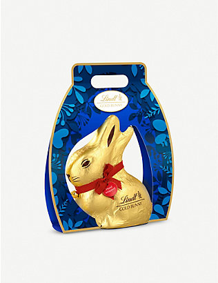 LINDT: Milk chocolate gold bunny 500g