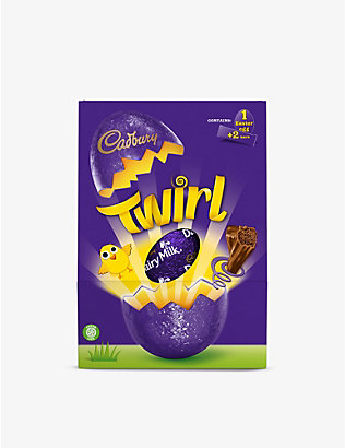CADBURY: Twirl milk chocolate Easter egg 262g