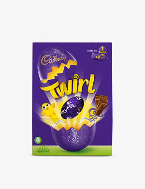 CADBURY Twirl milk chocolate Easter egg 262g