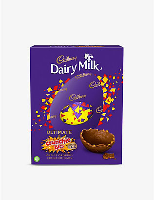 CADBURY: Crunchie milk chocolate Easter egg 570g
