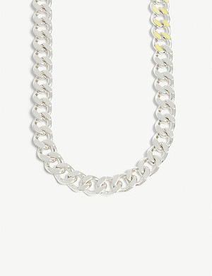 HATTON LABS Heavyweight sterling silver cuban chain