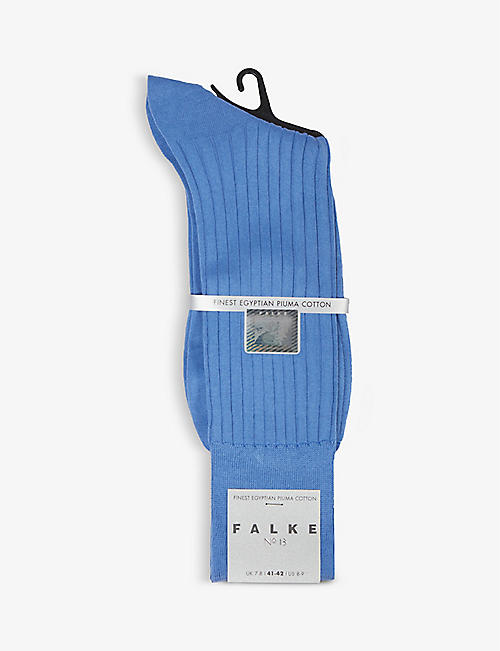 FALKE: No13 finest piuma cotton-blend socks